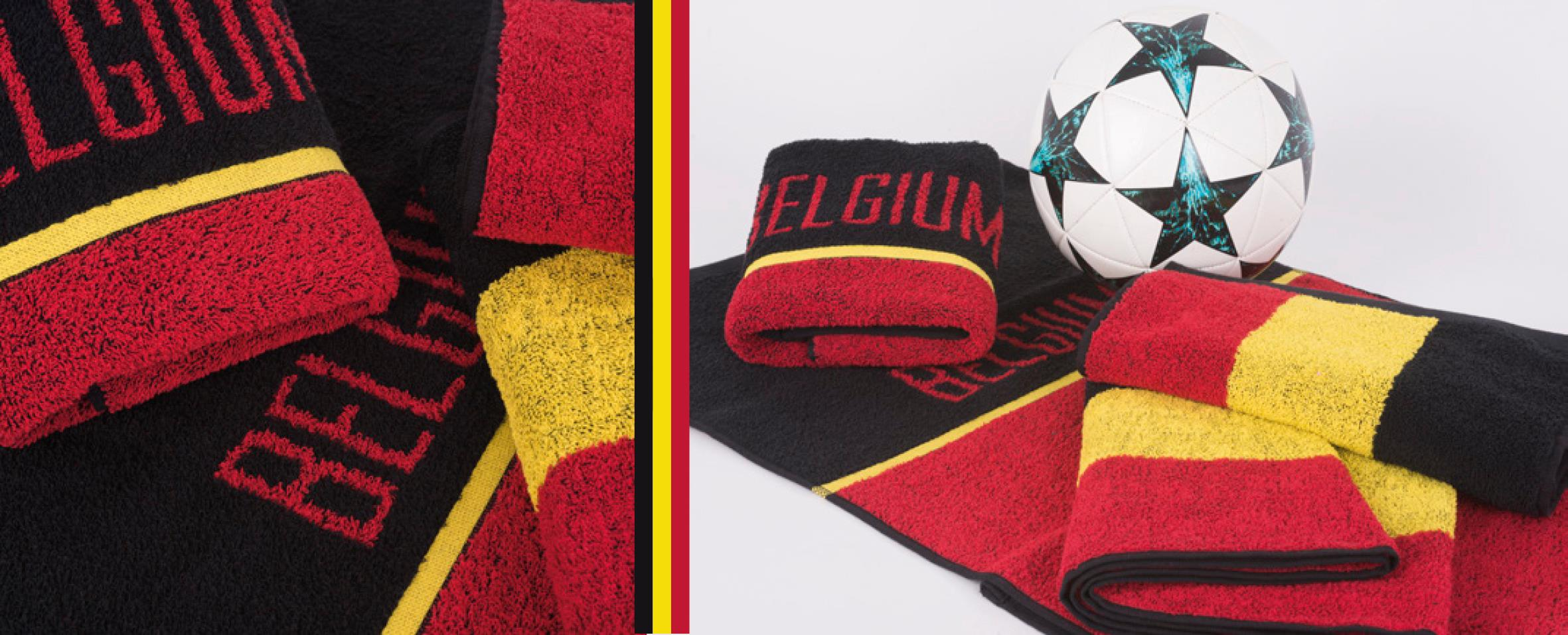 Belgian-themed towels by Clarysse